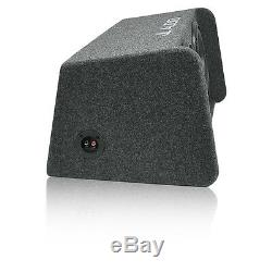 JL AUDIO CP210-W0v3 Dual 10 10W0v3 Sub Loaded Ported Enclosure Gray Carpet OB