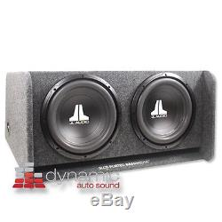 JL AUDIO CP212-W0V3 (2) 12W0v3 12 Subwoofers Loaded in Ported Basswedge Box