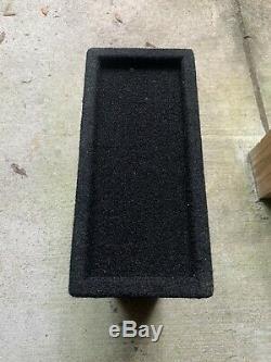 JL Audio ACP108LG-W3V3 8 Loaded Car Subwoofer & Enclosure Box & Amp