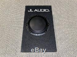 JL Audio ACP108LG-W3V3 8 Loaded Car Subwoofer & Enclosure Box With Built In Amp