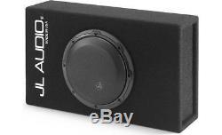 Jl Audio Cp108lg-w3v3 8 Single 4-ohm 8w3v3-4 Subwoofer Speaker Loaded Sub Box