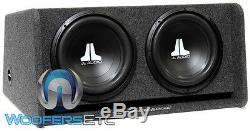 Jl Audio Cp212-w0v3 (2) 12 12w0v3-4 Subwoofers Speakers Loaded Ported Bass Box