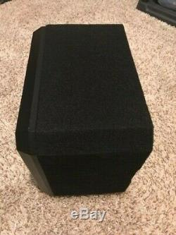 Jl Audio Cs110g-tw3 Loaded 10 Tw3 Car Subwoofer Enclosure Speaker Box 2 Ohm