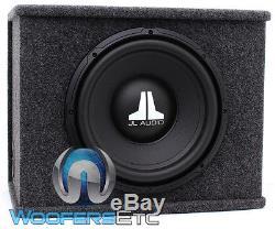 Jl Audio Cs112-wxv2 12 Sub 4-ohm Loaded Enclosed Subwoofer Bass Speaker Box New