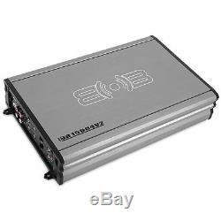 KICKER 43TCWRT104 800W 10 Subwoofer Loaded Enclosure + 4-Channel Amp & Amp Kit