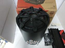 KICKER 45CWTB102 TB 10 800w Marine Loaded Subwoofer Enclosure+Passive Radiator