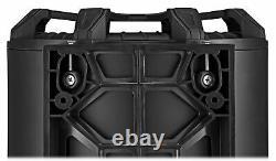 KICKER 46CWTB104 TB 10 800w Marine Loaded Subwoofer Enclosure+Passive Radiator