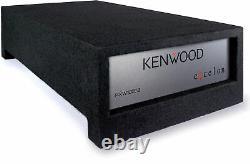 Kenwood Excelon P-XW1002B 10 4-ohm Shallow Loaded Enclosure