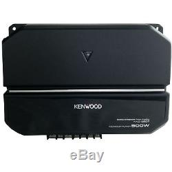 Kenwood P-W101B 10 Inch Car Loaded Vented Subwoofer & 500W Amplifier Package