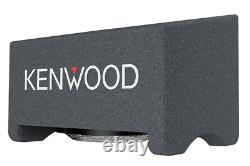 Kenwood P-W3041S Pre-Loaded 12 Inch Vented Subwoofer Enclosure 2000W Peak Power