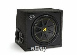 Kicker 10VC124 Single Comp 12 Sub Vent Box