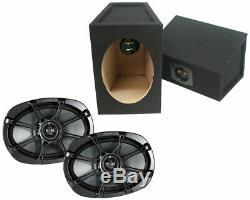 Kicker 11KS69 Car Audio 6x9 Full Range KS Series Loaded Wedge Speaker Box KS69