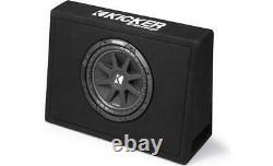 Kicker (2) 43TC104 Car Single 10 Loaded Truck Sub Box 300W TC10 & HA-A400.1
