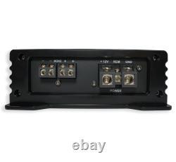 Kicker (2) 46TL7T124 Car Audio L7T Loaded Square 12 Thin Sub Box & HA-A800.1
