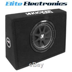 Kicker 43TC104 10 150W RMS 4-Ohm Comp Series Loaded Subwoofer Box