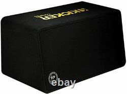 Kicker 44DCWC102 Dual Loaded Car Subwoofer 10-In 1200 Watt 2 Ohm Enclosed Sub