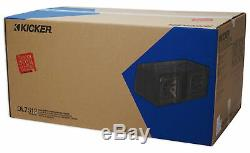 Kicker 44DL7S122 Dual 12 3000w L7 Solo-Baric L7S Loaded Sub Enclosure 44L7S122