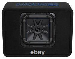 Kicker 44TL7S102 10 1200 Watt L7 Solo-Baric L7S Loaded Enclosure+Mono Amplifier