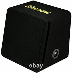 Kicker 44VCWC122 Car Sub, 12-Inch 600 W 2 Ohm Vented Loaded Subwoofer Enclosure