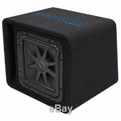 Kicker 44VL7S122 12 1500w L7 Solo-Baric L7S Loaded Audio Ported Sub Enclosure