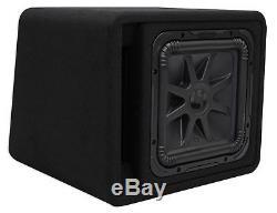 Kicker 44VL7S122 12 1500w L7 Solo-Baric L7S Loaded Ported Sub Enclosure Box