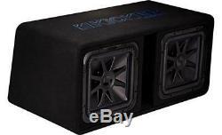 Kicker 44dl7s122 Dual Loaded L 7 Box 2 Ohm 1500 Watt