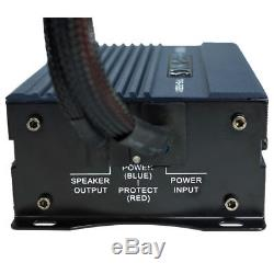 Kicker 45CWTB82 8 600W Loaded Subwoofer Enclosure + Monoblock ATV/UTV Amplifier