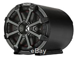 Kicker 45CWTB82 TB 8 600w Loaded Subwoofer/Sub+Enclosure Tube with Grille CompR
