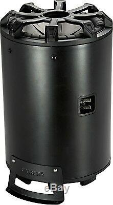 Kicker 45cwtb104 Car Audio 10 Tb Loaded Subwoofer Enclosure Tube 4-ohm Cwtb104