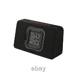 Kicker 46TL7T82 Car Audio L7T Loaded Square 8 Thin Sub Box Enclosure 2 Ohm New