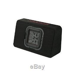 Kicker 46TL7T84 Car Audio L7T Loaded Square 8 Thin Sub Box Enclosure 4 Ohm New