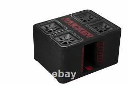 Kicker 47QL7R12 L7R 1200W 12 Subwoofer Loaded Ported Enclosure Quad Box