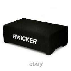 Kicker 48CDF124 Comp 12 Down-Firing Loaded Subwoofer Enclosure