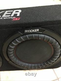Kicker 48tcwrt102 Car/truck 10 Comp Rt Boxed Subwoofer Loaded Enclosure