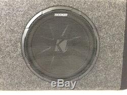 Kicker Bass Station 10in. Car Powered Subwoofer