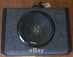 Kicker Bass Station 10in. Car Powered Subwoofer WITH WIRING HARNESS
