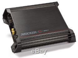 Kicker Car Audio Loaded 15 Cvr15 3/4 MDF Ported Subwoofer Box & Dx500.1 Amp