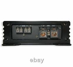 Kicker Comp C10 Triple 10 Subwoofer Loaded 1500 Watt Sub Box & HA-A1500.1 Amp