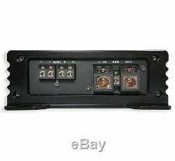 Kicker Comp C12 Triple 12 Subwoofer Loaded 1800 Watt Sub Box & HA-A1500.1 Amp