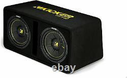 Kicker CompC 44DCWC102 Dual 10 Vented Loaded Enclosure