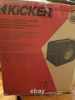 Kicker CompR 43VCWR122 Single 12 Vented Loaded Enclosure FAST FREE SHIPPING