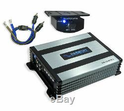 Kicker DC122 Loaded Dual 12 Ported Comp 600W Sub Box 43DC122 & HA-A400.1 Amp