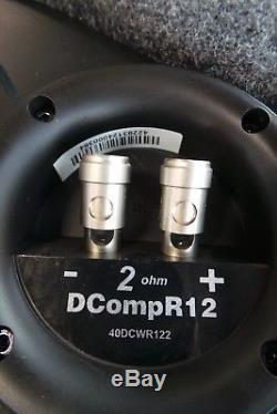 Kicker DCompR12 12 40DCWR122 Quality Loaded Dual 2 Ohm Subwoofer #dirku34