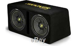 Kicker Dcwc122 Dual 12 Comp C Vented Loaded Box