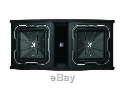 Kicker Dual 12 L7 2 Loaded Enclosure