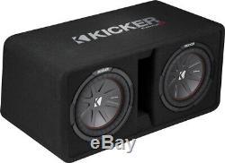 Kicker Dual CompR 43DCWR102 Dual 10 Vented Loaded Enclosure