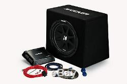 Kicker KKP212 KickPack 12 Loaded Vented Subwoofer Box with DXA1251 Amp