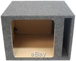 Kicker Loaded Single 12 S12L7 Vented Subwoofer Box, CX1200.1 Amp & 4 Gauge Kit