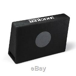 Kicker Single 10-Inch Comp 4 Ohm 150W Loaded Subwoofer Enclosure Box (Open Box)
