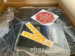 Kicker Single 44vl7122 12 L 7 Loaded Vented Box 2 Ohm 1500 Watt